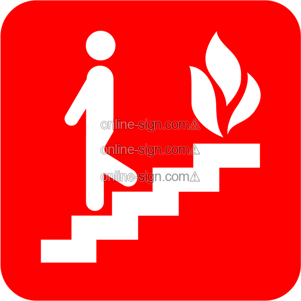 Use stairs in the event of a fire