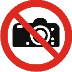 Photography prohibited in this area