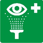 Medical eye wash