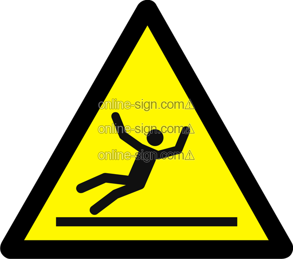 Warning slippery surface