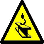 Warning overhead loads