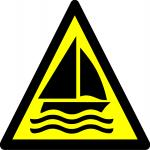 Beware sailing area